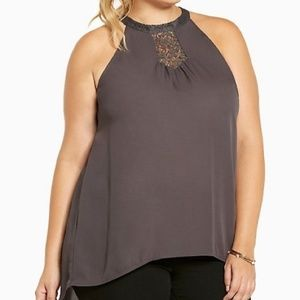 torrid Tops - TORRID SIZE 3 LACE INSET TANK TOP